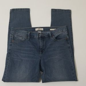 Vintage weekend Crop Jean's size 6
